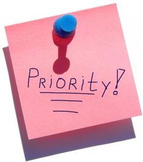 prioriter din tid mere