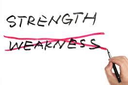 Vis styrker og omvend svagheder